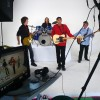 Phil Monsour Band video shoot Everything but stop